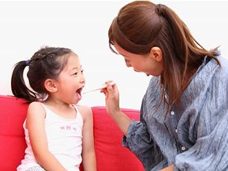 お子様にいつでも無料で安心の虫歯予防を